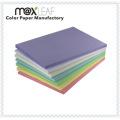 225GSM Tamanho A4 Cartões de papel impressos coloridos Etiqueta de papel