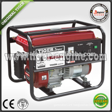 TIGER 2.3KW/6.5HP SH3900DX Industrial machinery gasoline generator