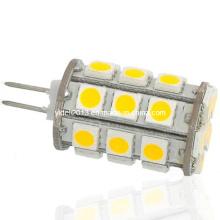 360deg 12V 27 5050 SMD Capsule G4 LED Ampoule