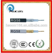 CCS copper core coaxial cable rg58 CCTV CATV cable high quality