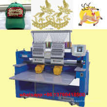 2015 Elucky double head embroidery machine cording sequin flat mixed embroidery machine