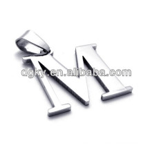 Stainless Steel Necklaces 26 Pendants Alphabet Letter Pendants