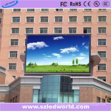 Panneau d'affichage à LED fixe polychrome extérieur de haute définition de P5 SMD pour la publicité