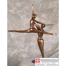 Designer Home Decor nue Sculpture abstraite mode décoration naturelle