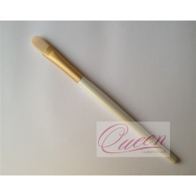Wood Handle Round Smudge Brush Small Eyeshadow Brush
