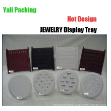 Fashion Leather PU Earring / Ring Display Stands Wholesale (JS84 Serie)