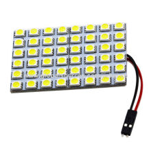 Auto-LED Interior Lights, Suitable for Car Dome Reading Lights with 15 Pieces 5050 SMD, 12V DC