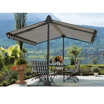 Retractable Patio Zonnescherm Luifel Dekking anti-UV
