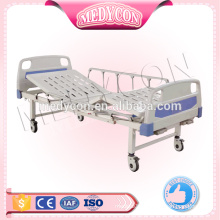 High quality and economic 2 cranks manual hospital bed