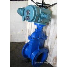 Electric Soft Seal Non Rising Stem Gate Valve (Z945X)