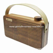 Wireless Audio Bluetooth Speaker, Outdoor Portable Handle Design, 8-hour Playing Music, Microphone