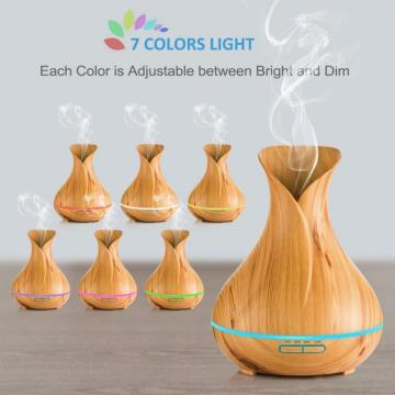 300ml Wooden Grain Essential Oil diffuser