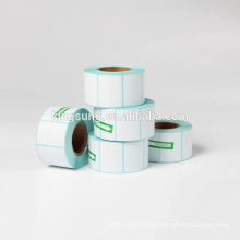 Blank White Direct Thermal Barcode Labels Sticker Rolls for Zebra Printer