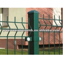 Pvc coated welded galvanized fence panel