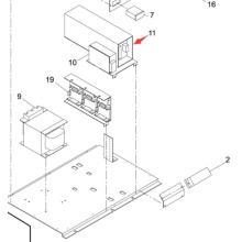 Силы Panasonic SMT для Sp60p-М машина экрана принтера (KXFP60QAA00)