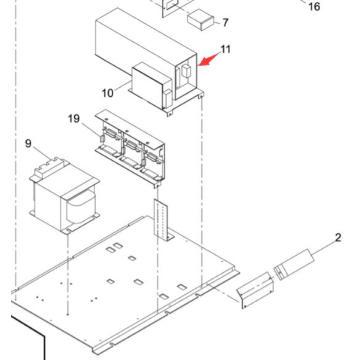 Panasonic SMT Power for Sp60p-M Screen Printer Machine (KXFP60QAA00)