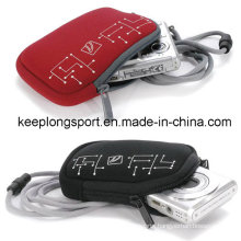 Fashionable Neoprene Pouch for Camera Wallet