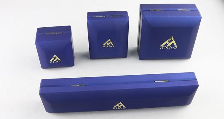 Blue Plastic LED Light Jewelry Box Set