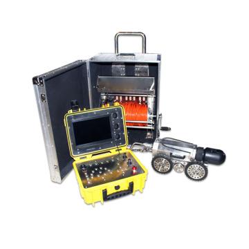 Instrument zur Fehlererkennung bei langen und schmalen Rohren