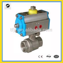 Actuador de válvula neumática de doble acción AC220V, DC24V para tratamiento de agua