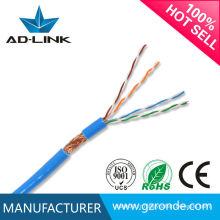 Meilleur prix câble de réseau sftp cat5e de haute qualité câble 24awg / cat5e