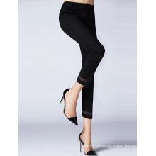 Custom Lady algodão poliéster stretch skinny lazer mulheres calças