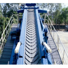 Высокое качество хлопок Canvans шевронная конвейерная лента для мелкого угля