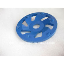 6segments PCD cup wheels