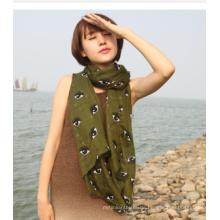 2016 heißer Verkauf Mode Multi Farbe Frauen Voile Stoff für Schal