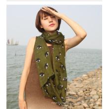 2016 горячая распродажа мода многоцветный женщины Маркизета ткань для шарфа
