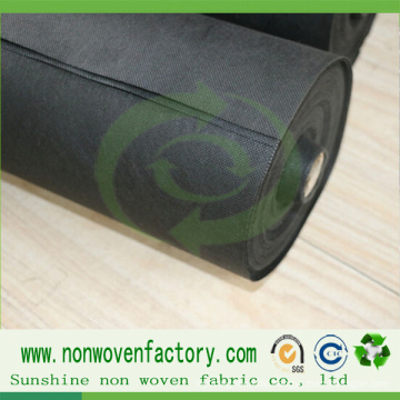 Non Woven Polypropylen Stoff Black Weed Control Stoff