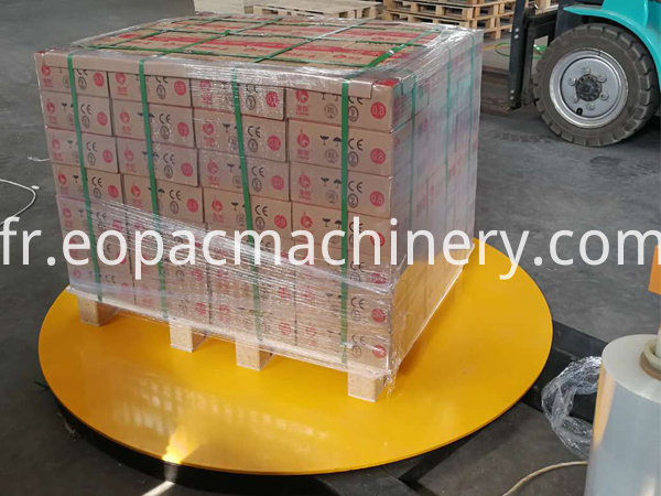 Pallet Stretch Film Wrapping Machine