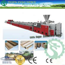 Línea de producción del perfil plástico de madera de PVC / PE / PP