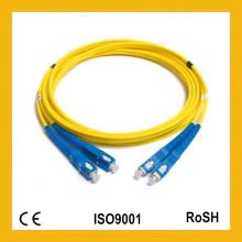 Sm / mm Sx / Dx Modo simple Multi Modo Simplex Duplex 0.9 / 2.0 / 3.0mm Cable de fibra óptica de remiendo