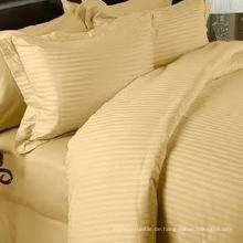 1cm Baumwoll Damast Streifen Bettbezug