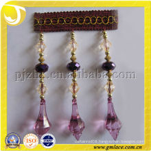 2015 Main Home Textile,Polyester Trimming for Garment Embellishment Curtain Tassel Fringe