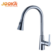 Modern long kitchen faucet pull out kitchen mixer sink faucet