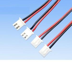 XH2.54 मिमी टर्मिनल एलईडी प्रकाश इलेक्ट्रॉनिक तारों का उपयोग