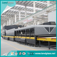 Luoyang Car Glass Flat and Bent Glass Tempering Furnace Machine