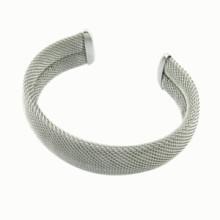 Acero inoxidable personalizado ajustar el brazalete de metal