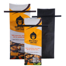 Aluminium Coffee Bean Packaging Fin Seal Bags