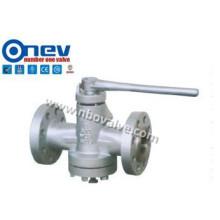 Válvula de conexão tipo Fange de aço fundido (X43W)