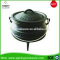 Südafrika Cast Iron 3-beiniger Potjie Pot