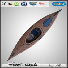 Style de bois chinois simple assis en kayak en plastique
