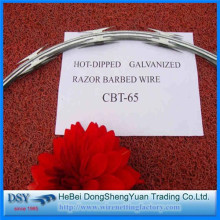 700mm Roll Diameter Razor Barbed Wire