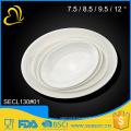 best quality melamine oval cheap white dinner plates for restaurant
