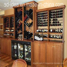 Vitrine fonctionnelle / présentoir pour vin