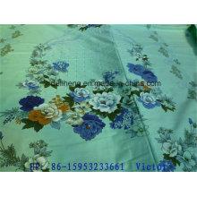 Günstige T / C 50/50 Jacquard Plain gefärbte und bedruckte Bettwäsche