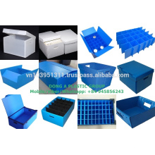 Herstellung nach Kundenwunsch leichte, leicht zu reinigende Polypropylen-Hohlplatte für die Verpackungsindustrie aus Vietnam