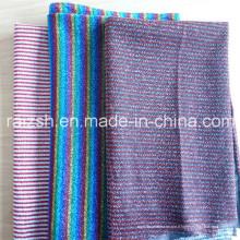 Lurex Thread Fils métallisés Tissus d'accessoires tricotés en trame